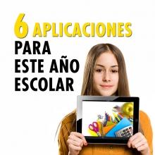 6 aplicaciones que te ayudarán este año escolar
