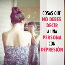 Cosas que NO debes decirle a una persona que sufre de depresión