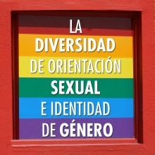 La diversidad de orientación sexual e identidad de género