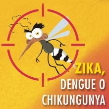 Zika, Dengue o Chikungunya